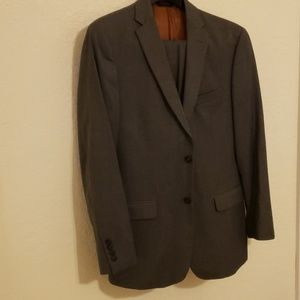 Gray Jos A bank mens suit
